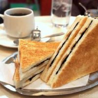 元祖のりトーストレシピ。マツコも認めた純喫茶グルメが美味