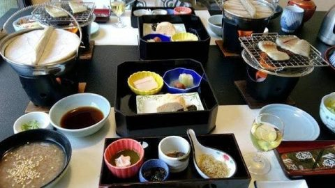 奈良*万葉若草の宿三笠:お風呂&お食事編
