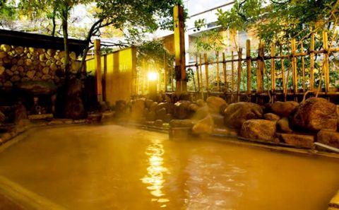 有馬温泉 月光園鴻朧館の宿泊レポ 金泉露天はかけ流し源泉