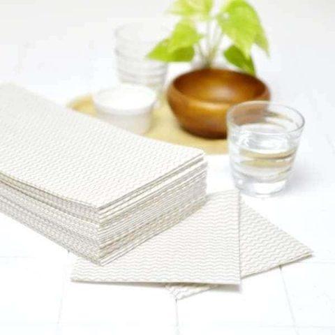 ロハコの使い捨てカウンタークロス ふきんの匂い対策と使い方