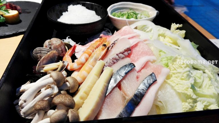 豚・海鮮・野菜とたっぷり具材