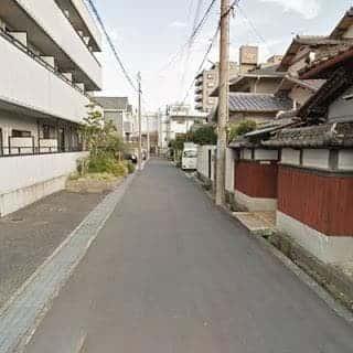 普通の静かな住宅街です