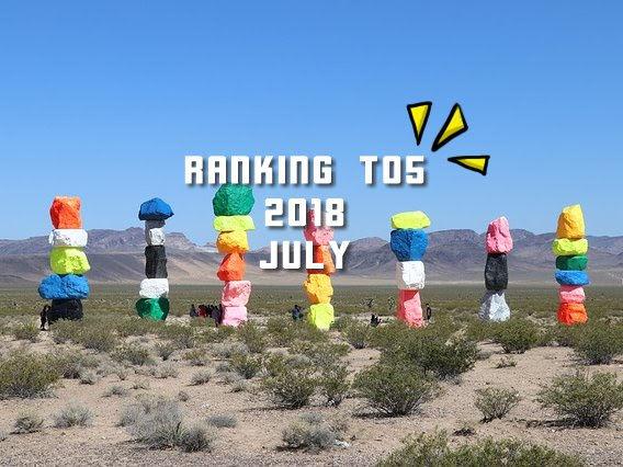 【月間ランキング TOP5 】2018年7月 西日本豪雨義援金情報がIN