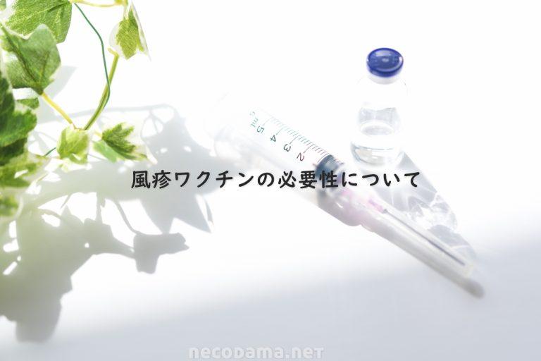 30~50代男性*風疹ワクチンの必要性