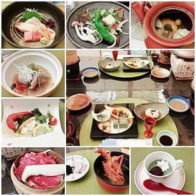 雄山荘 夕食の様子(2018年10月)