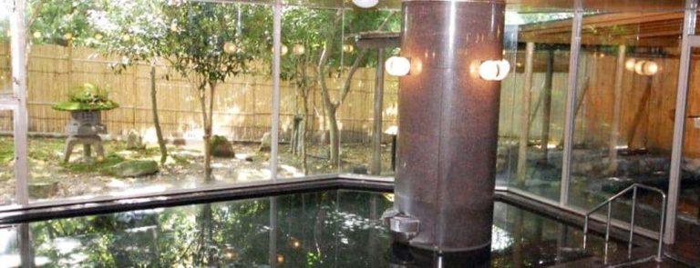 有馬 瑞宝園の大浴場 露天風呂あり 出典:瑞宝園
