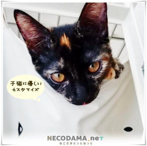 アイリスオーヤマ猫ケージ*カスタマイズ例