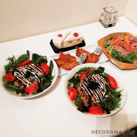 【夫婦2人の年間食費'18】~月3万円の週間献立&食費:12/24~年末編 @45