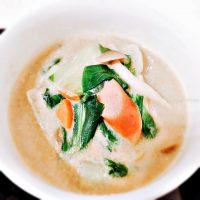 豆乳レシピ まろやか♪豆乳カレースープ