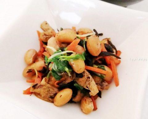 ひじきと大豆の含め煮