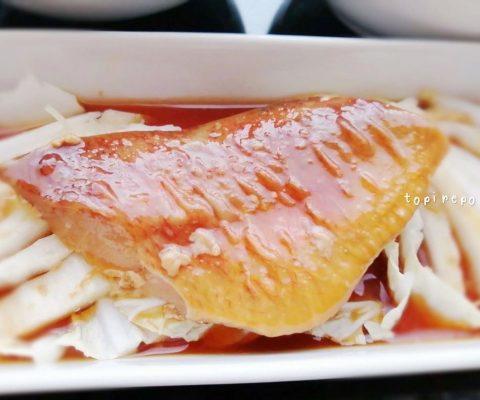 赤魚と白菜の煮付け