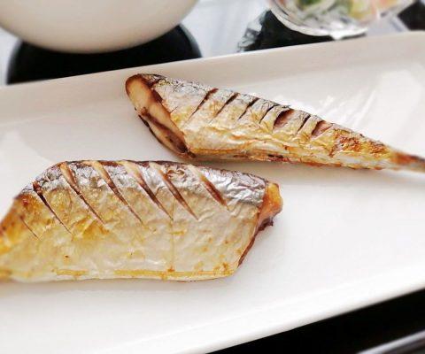 秋刀魚(サンマ)の塩焼き