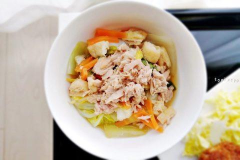 白菜とツナの旨煮