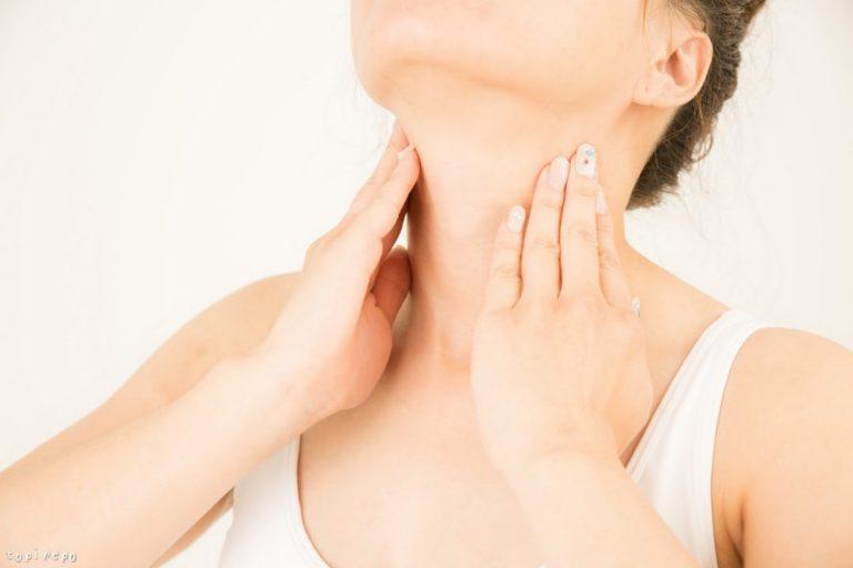 甲状腺はのどぼとけの下にある臓器