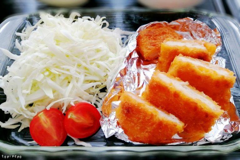 カジキ鮪ステーキカツ@夕食ネット