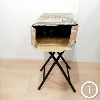 不安定でいい。お猫さまはやっぱり箱が好き。