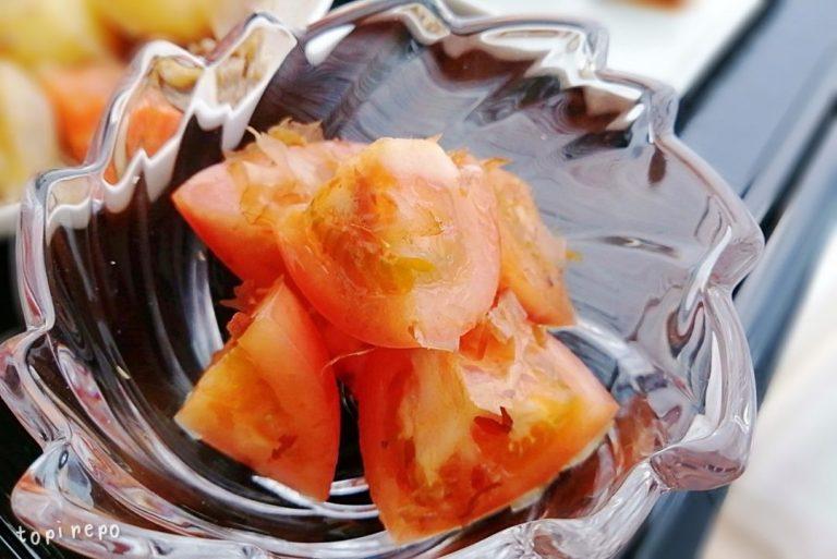 トマトのお浸し@夕食ネット