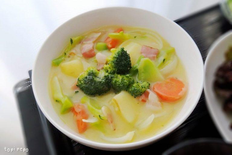 ゴロゴロ野菜のコーンシチュー@ヨシケイ
