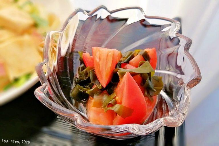 トマトの甘酢煮