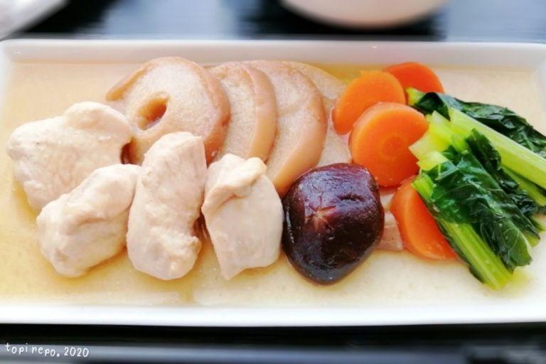 鶏の治部煮(風)