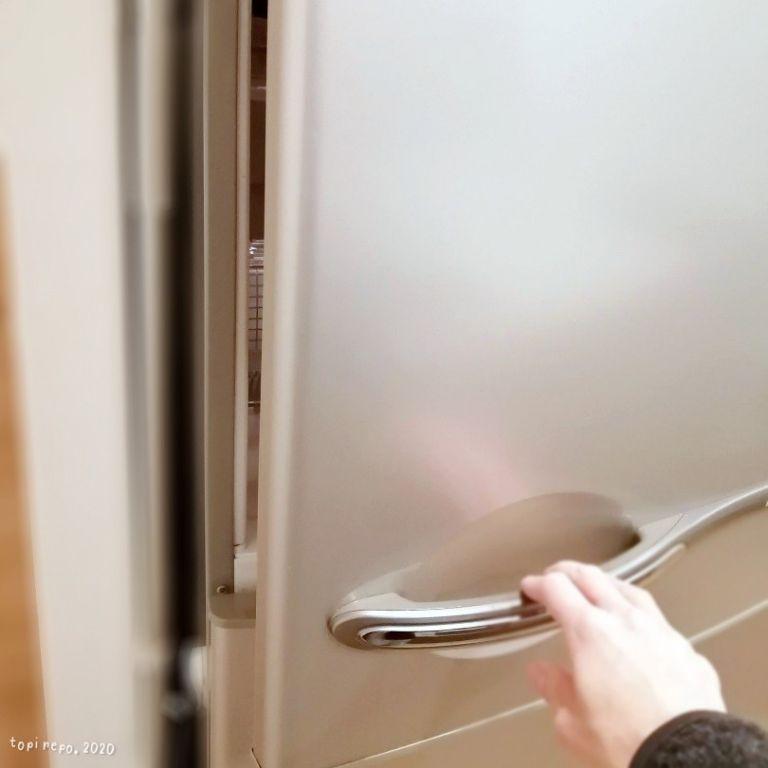 冷蔵庫を開けると・・・