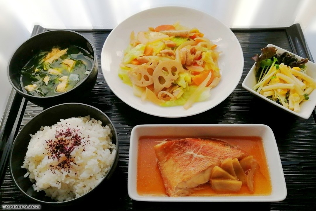 赤魚煮付け&シャク旨蓮根炒めと仕事/炊事初め