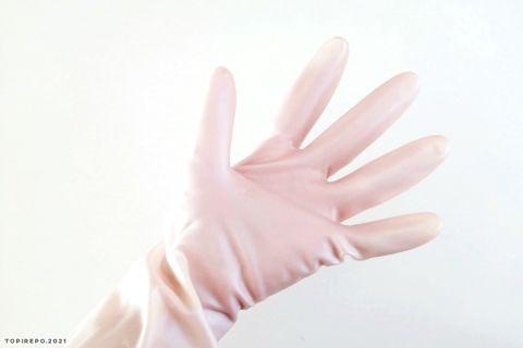 小さい手にぴったり。シンプルキッチンゴム手袋