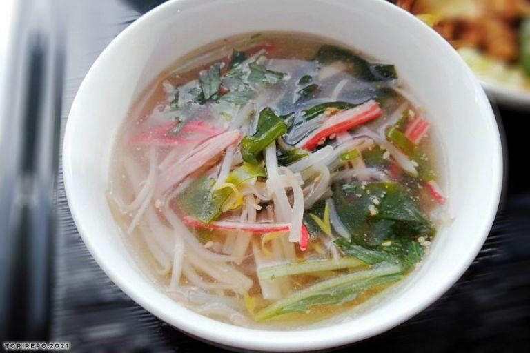 食べる系中華スープ