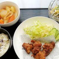 照焼チキン&大根あっさり煮と比例:反比例の春