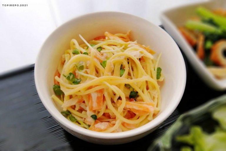 ツナ入りスパゲティサラダ