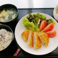 ミルフィーユかつ&ポテトサラダ・豆腐おみそ汁