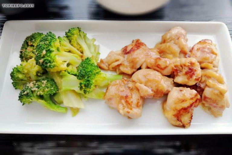 鶏の生姜照り焼き