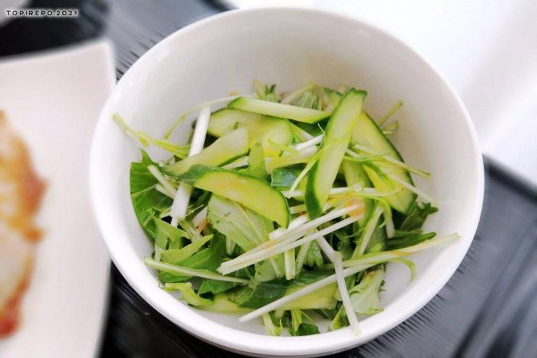 水菜と胡瓜のさっぱりあえ