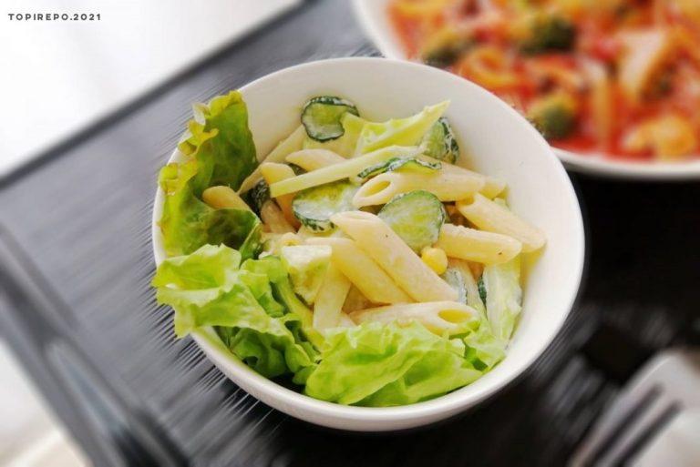 ペンネと胡瓜のサラダ