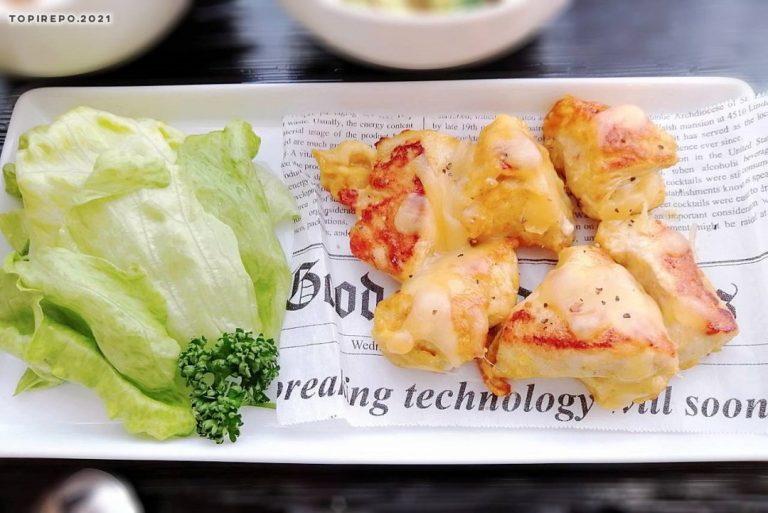 鶏肉のカレーチーズ焼き