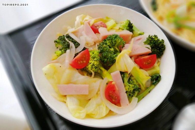 ハムと彩り野菜のマリネ